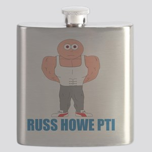 Russ Howe PTI Cartoon Flask