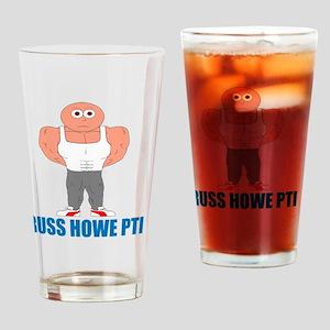 Russ Howe PTI Cartoon Drinking Glass