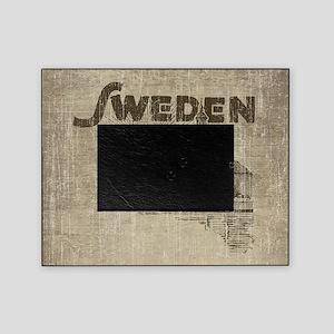 Vintage Sweden Picture Frame