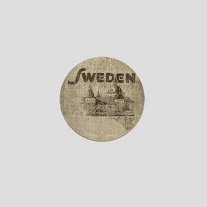 Vintage Sweden Mini Button