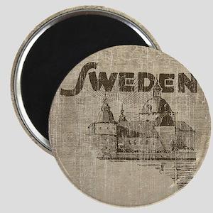 Vintage Sweden Magnet