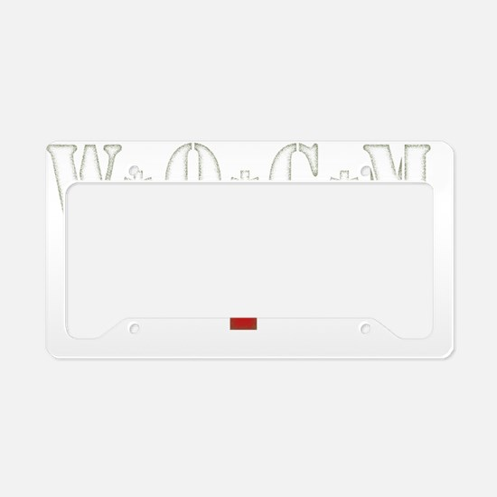 AM Army Tour of Duty 2012 - F License Plate Holder