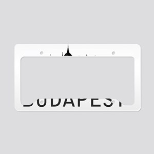 Budapest License Plate Holder