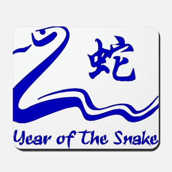Year of Water Snake Mousepad