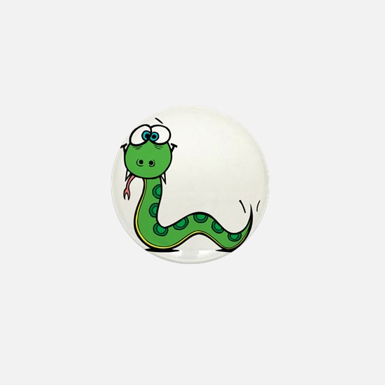 Funny Year of Snake Mini Button