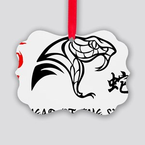 Year of Snake 2013 Picture Ornament