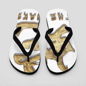 Year of Snake Flip Flops