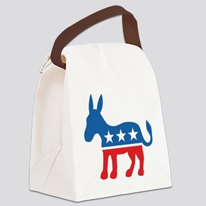 Democrate Donkey Canvas Lunch Bag