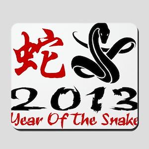 Year of Snake 2013 Mousepad