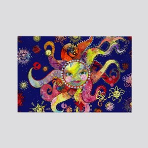 sun tray Rectangle Magnet