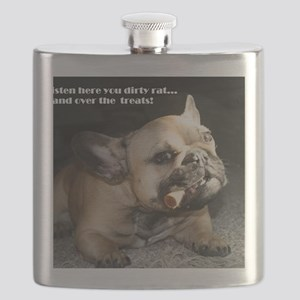 Hand Over the Treats Flask
