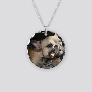 Hand Over the Treats Necklace Circle Charm
