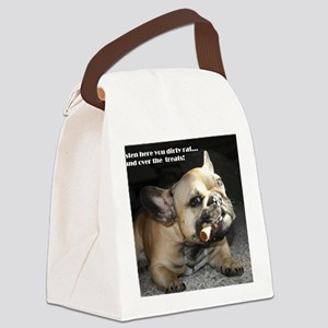Hand Over the Treats Canvas Lunch Bag