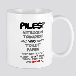 PILES - NITRO TRIIODIDE! - BOOM! Mugs