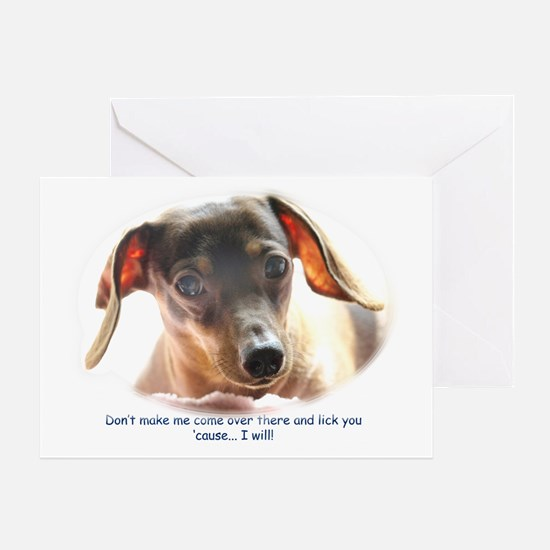 Lick You! Greeting Card
