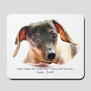 Lick You! Mousepad