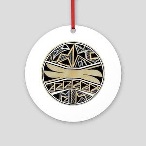 STAIRWAY BOWL DESIGN Ornament (Round)