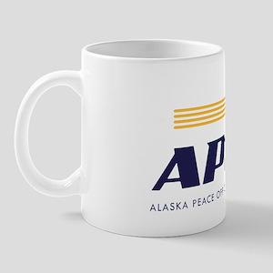 Alaska Peace Officers Association logo Mug
