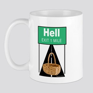 Handbasket to Hell Mug