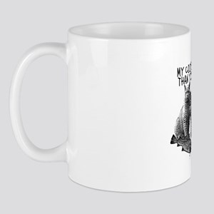 Cats and religious parody Mug