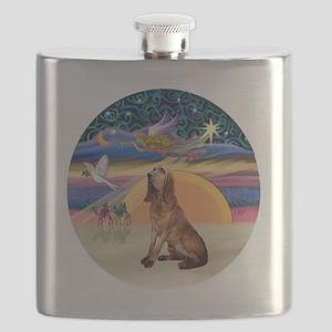 R-XmasAngel-Bloodhound Flask