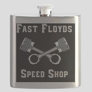 Fast Floyds Speed Shop Flask