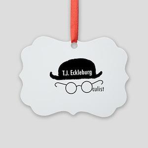 T.J. Eckleburg Picture Ornament