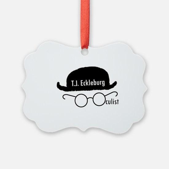 T.J. Eckleburg Ornament