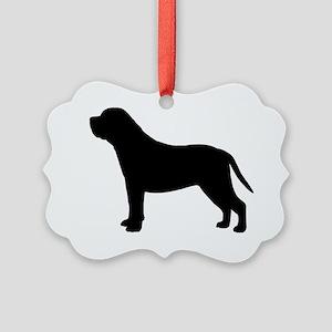 mastiffbiz Picture Ornament