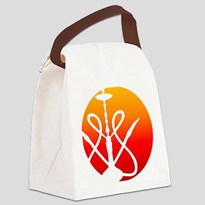 SPOT Hookah Mark RedOrange Canvas Lunch Bag