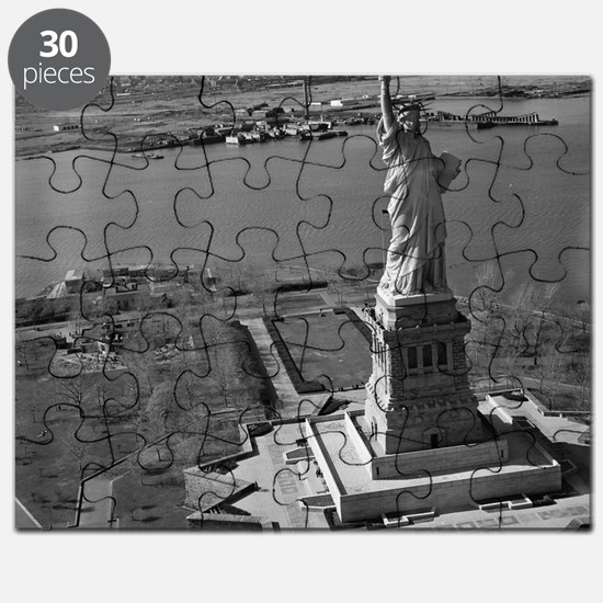Vintage Statue Of Liberty Puzzle