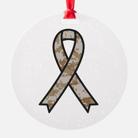 Military Support Ribbon Ornament