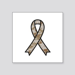 Military Support Ribbon Sticker