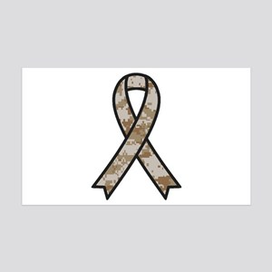 Military Support Ribbon Wall Decal