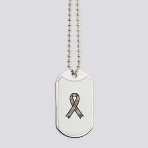 Military Support Ribbon Dog Tags
