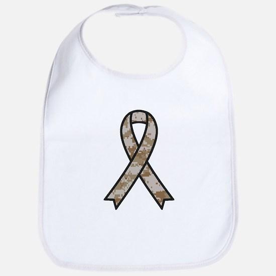 Military Support Ribbon Bib