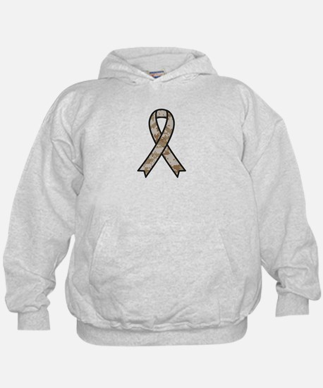Military Support Ribbon Hoodie