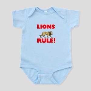 Lions Rule! Body Suit