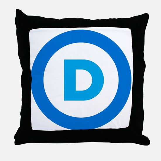 Democratic Throw Pillow