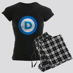 Democratic Women's Dark Pajamas