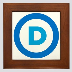 Democratic Framed Tile