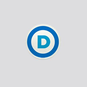 Democratic Mini Button