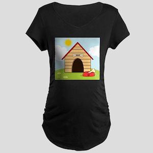 dog735 Maternity Dark T-Shirt