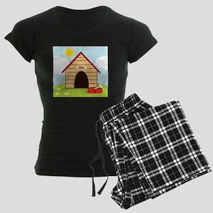 dog735 Women's Dark Pajamas