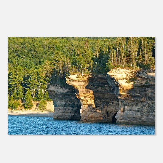 Pictured Rocks A Postcards (Package of 8)
