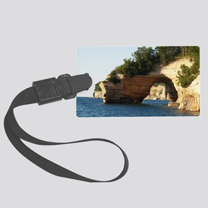 Pictured Rocks Large Luggage Tag