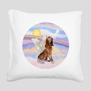 Clouds-BloodhoundAngel Square Canvas Pillow