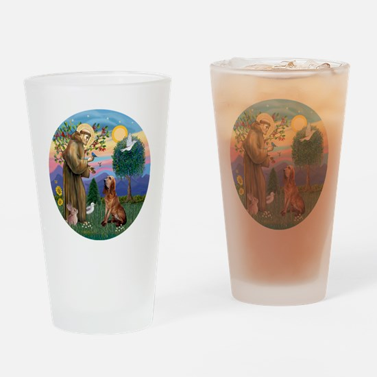 St. Francis - Bloodhound Drinking Glass