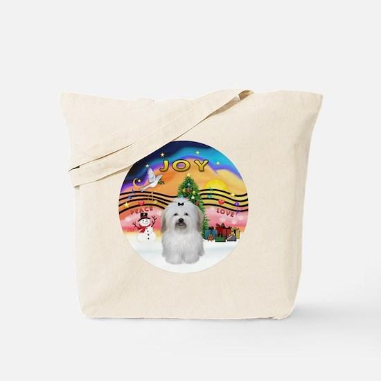 R-XMusic2 - Coton De Tulear 2b Tote Bag