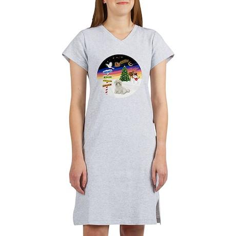 R-XSigns-Coton de Tulear Women's Nightshirt